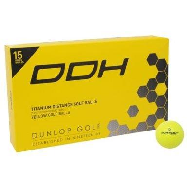 Dunlop 15 Stück DDH Ti Golfbälle für 6€