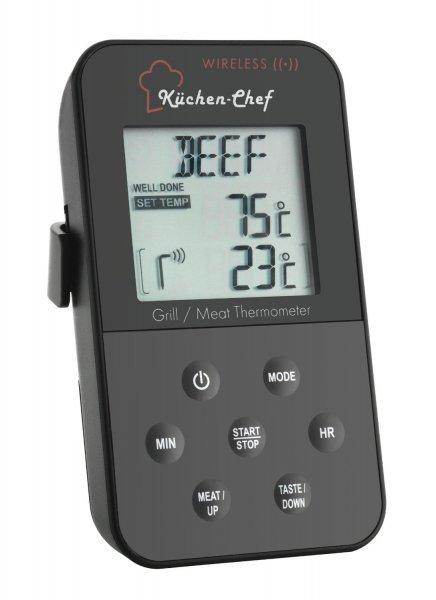 TFA Dostmann 14.1504 KÜCHEN-CHEF Funk-Grill-Ofenthermometer