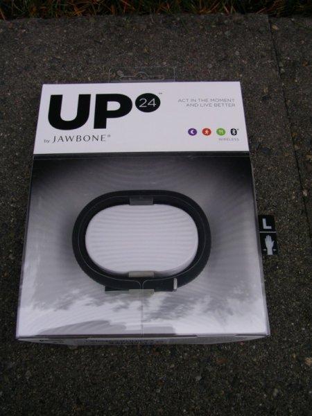 Jawbone Up24 Fitnessarmband  Onyx L ca. 30% unter idealo