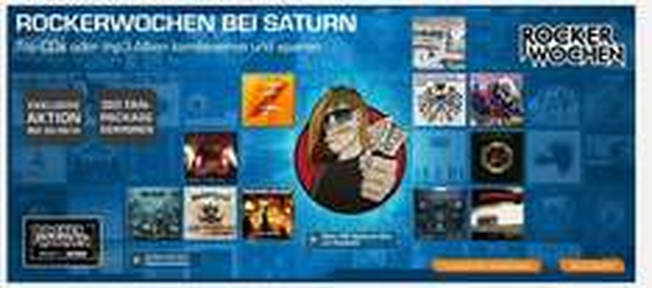 Saturn Online : Rockerwochen CDs mit Diversen Preisen
