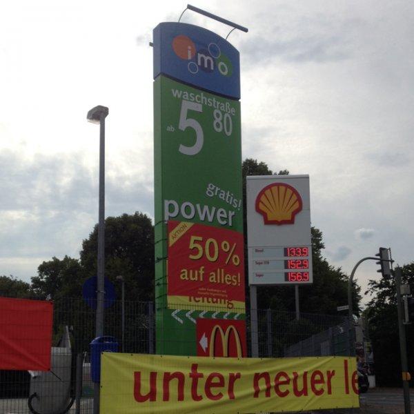 Lokal Bielefeld 50% auf alles bei IMO Waschstraße