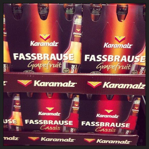 [Globus K`Lautern] Karamalz Fassbrause Grapefruit 6er Pack für 1€