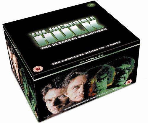 [OT]The Incredible Hulk: The Complete Seasons 1-5 [DVD] für 27,90€ inkl. Versand @ amazon.uk