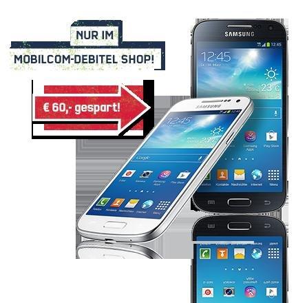 Samsung Galaxy S4 mini für 219,99€ ohne Vertrag bei mobilcom-debitel
