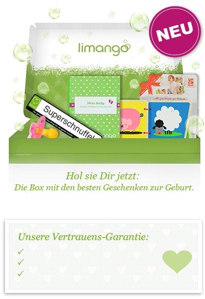 Limango verteilt 20.000 Happy Baby Begrüßungsboxen mit tollen Geschenken zur Geburt