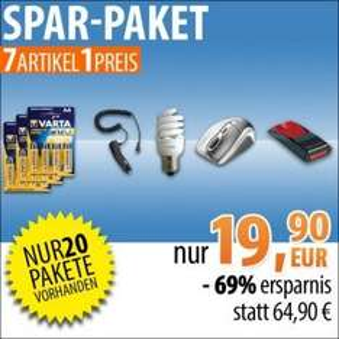 Power-Paket bei Billig.de -69% Ersparnis