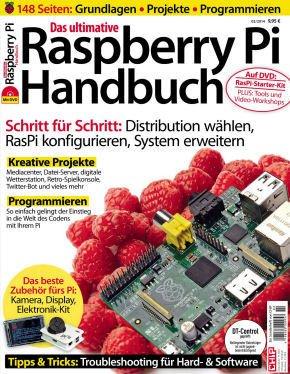 Das ultimative Raspberry Pi Handbuch von CHIP für 3,98€ @terrashop