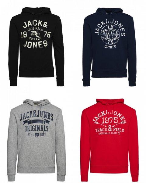 [Amazon] JACK & JONES Hoodies * 100 % Baumwolle * 4 verschiedene Farben