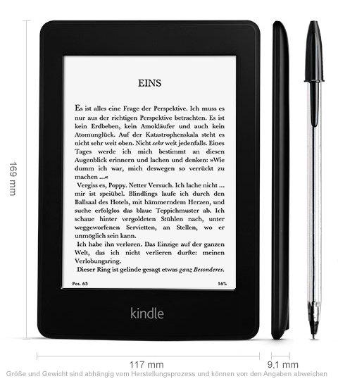 Kindle Paperwhite 3G (2013) 149€ versandkostenfrei @ EBAY