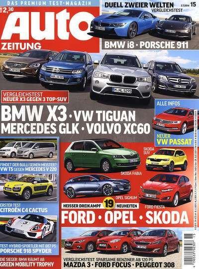 Auto Zeitung mit Universalgutschein für 7,60€ effektiv
