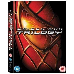 [Base.com] Spider-Man Trilogy Steelbook Blu-ray (EN) für 12,94€