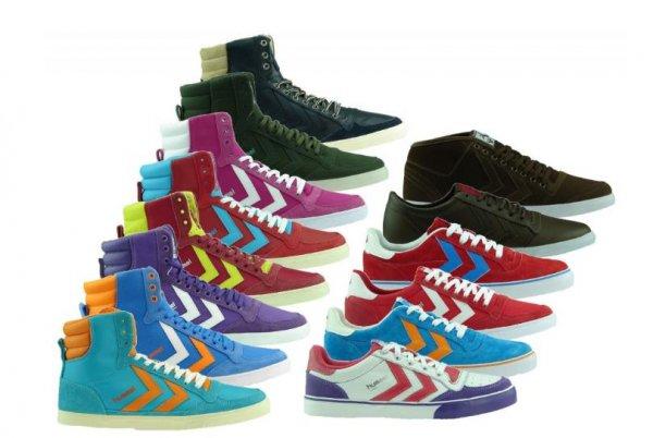 Ebay WOW NEU HUMMEL Sneaker Damen + Herren Turnschuhe 14 Modelle Sommer Retro Vintage