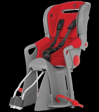 """Römer Jockey Comfort grau/rot (""""Lisa"""") Fahrradsitz"""