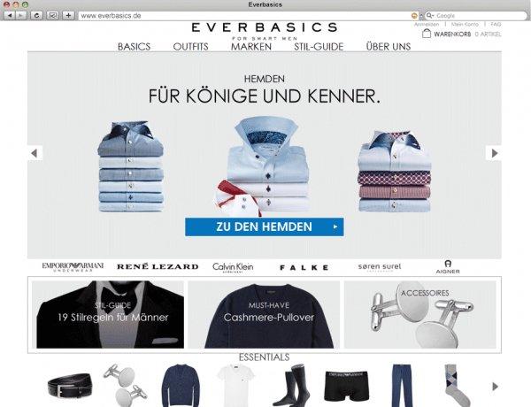 70% bei Everbasics (außer reduzierte Ware) - z.B. Lacoste Hemden für 30€