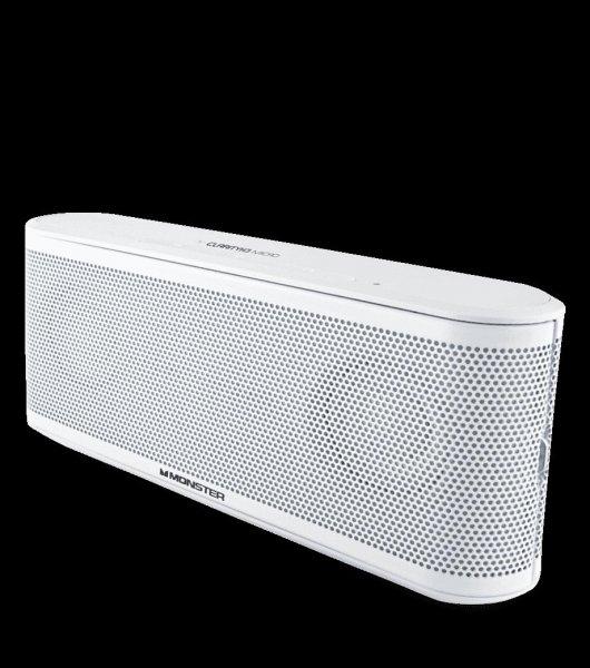 Monster Clarity HD Micro Bluetooth Lautsprecher mit Freisprechfunktion weiß @ 63,95€