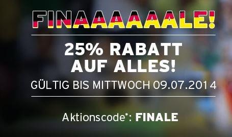 FC Bayern Fan-Shop: 25% Rabatt auf alles | nur heute!!
