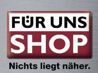 35% Rabatt auf Groß- und Kleingeräte der Marken Bosch, Siemens und Neff in den FÜR UNS Shops
