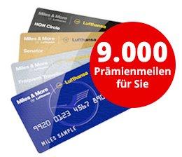 6Monate Welt am Sonntag + 9000 Miles&More Meilen für 91€