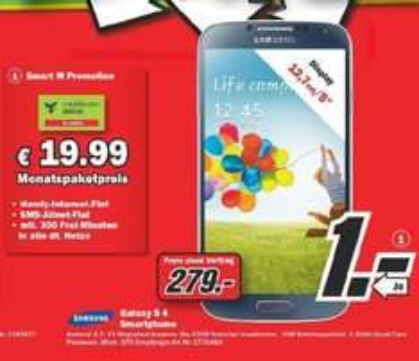 [Lokal Velbert] Samsung Galaxy S 4