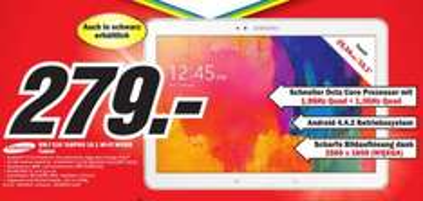 Samsung Tab Pro T520N 10.1 beide Farben bei MM! (Lokal Porta W.)