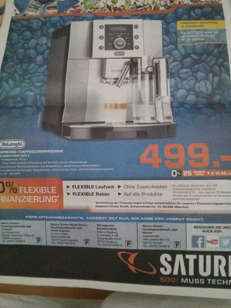 DeLonghi Esam 5500 für 499€ bei Saturn