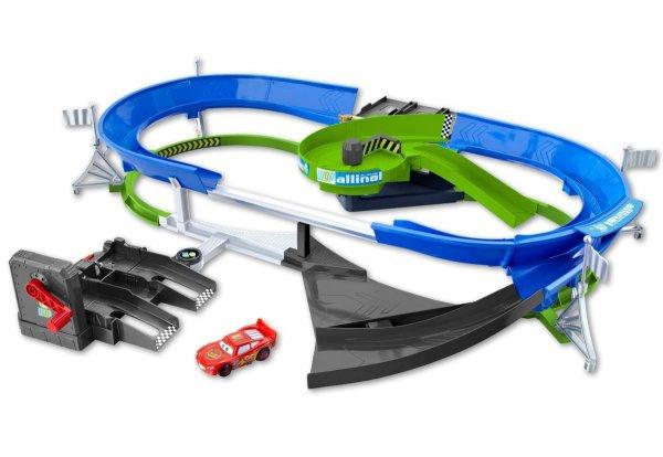 Mattel Disney/Pixar Cars Doppeldecker-Rennstrecke