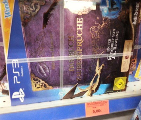 """[lokal Toys""""R""""Us Paderborn] PS3 Wonderbook: Das Buch der Zaubersprüche für 5€"""