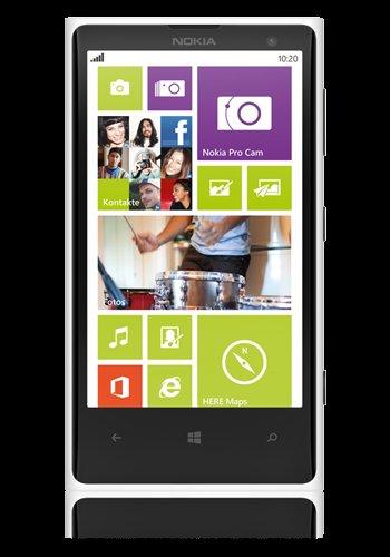 Nokia Lumia 1020 weiß 41 Megapixel Windows Phone für 309,95€