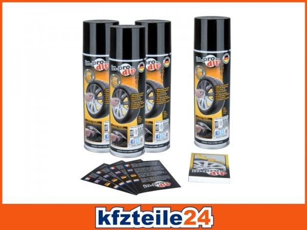 In.pro Sprühfolie schwarz matt 1200ml für 28,60€ evtl. zzgl. 6€ Versand bei KFZTEILE24.de mit 35% Gutschein