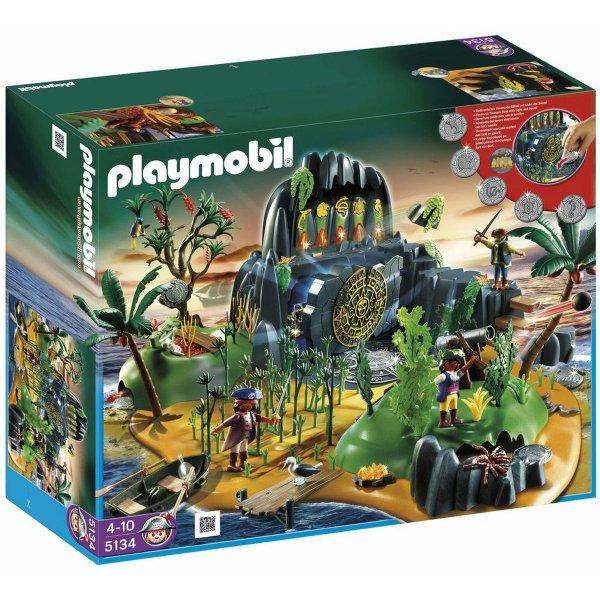 Playmobil Abenteuerschatzinsel = 50,15€ inkl. Versand (Nächster Preis:85,00€)