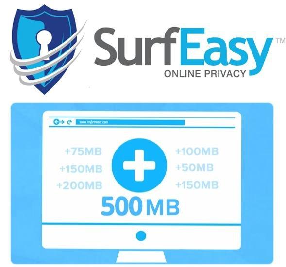 SurfEasy VPN (Windows, OSX, iOS, Android) - Dauerhaft kostenloses Freivolumen! Monatlich 1GB für bis zu 5 Geräte + endlos viel weitere GB sehr einfach möglich!