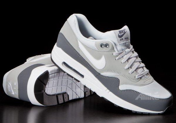 Nike Air Max 1 Dark Grey/ White Platinum @offspring.co.uk