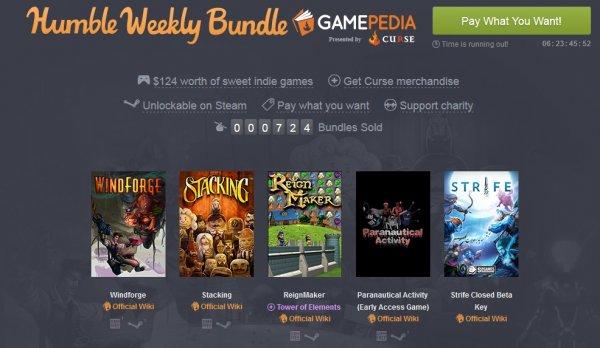 [Steam] Humble Weekly Bundle: Gamepedia presented by Curse