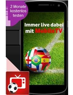 Für alle Vodafone-Kunden: 2 GB (LTE)-Datenvolumen + alle Bundesligaspiele (1. u. 2. Liga)