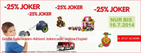 Interspar.AT -25% auf Spielwaren zB. Nuby 2 in 1 Babykostwärmer für 13,12€ + VSK