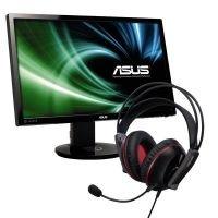 Asus VG248QE (144Hz Gaming Monitor) inkl. Asus Cerberus Headset für 289,00€