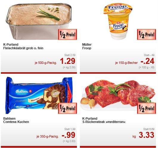 Kaufland [BaWü, RhPf] Ritter Sport 250g für 94 ct, Comtess Kuchen für 99 ct, 2xDuschDas für 1,25€, 500g Fleischkäsbrät 1,29€