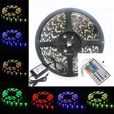 5M RGB 5050 LED Strip *Komplett Set bei eBay