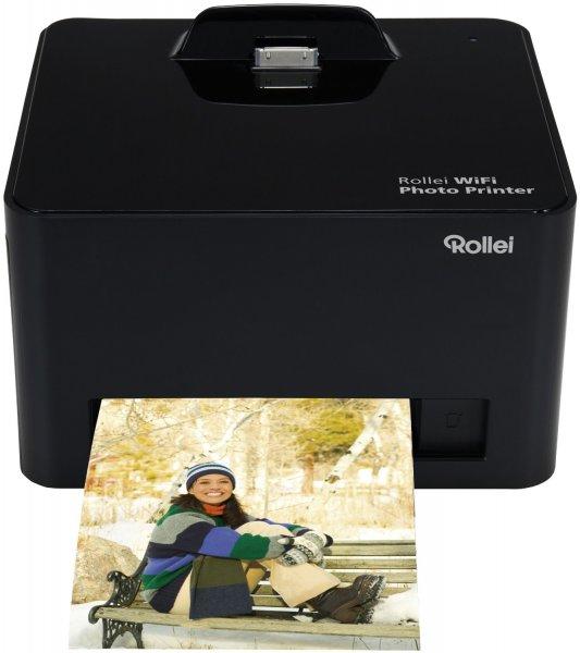 Rollei Photo Drucker WiFi & Smartphone-Dock @MediaMarkt für 29€ versandkostenfrei (73% Rabatt)