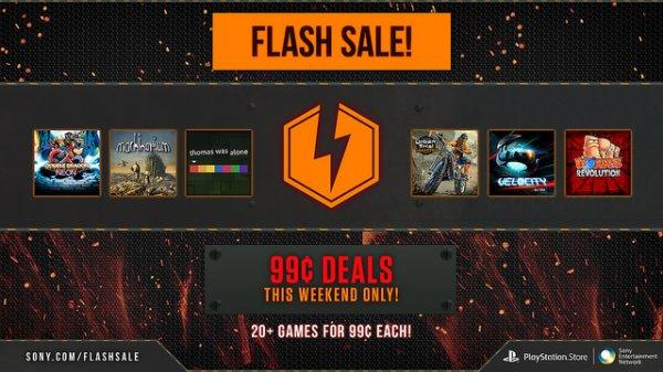 Playstation Store (US) – Über 20 Games für jeweils $0.99