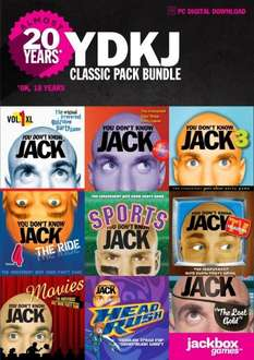 [Steam] YOU DON'T KNOW JACK Bundle (9 Spiele)