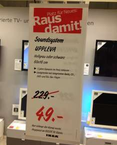 IKEA UPPLEVA Soundsystem mit BluRay-Player - offline in Berlin L.Berg , schwarz