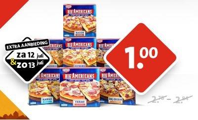 [NL] C1000 in Holland: Alle Dr. Oetker Big American heute und morgen für 1€