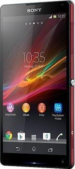 Sony Xperia ZL in rot