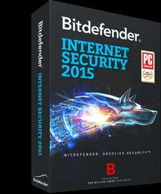 Bitdefender Internet Security 2014 bzw. 2015 (6 Monate)