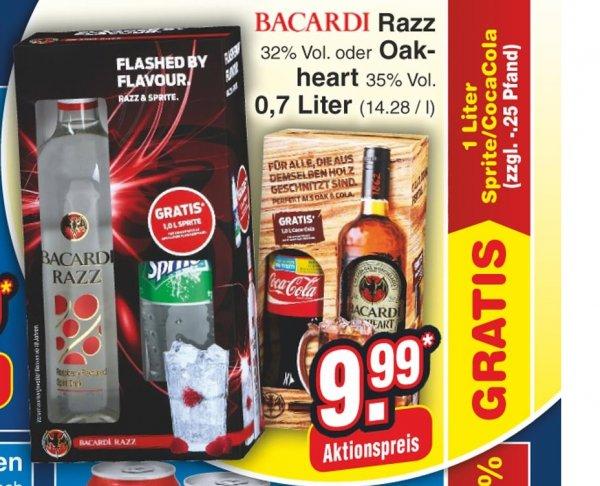 Bacardi Razz + 1l Sprite für 9,99 bei Netto ohne Hund