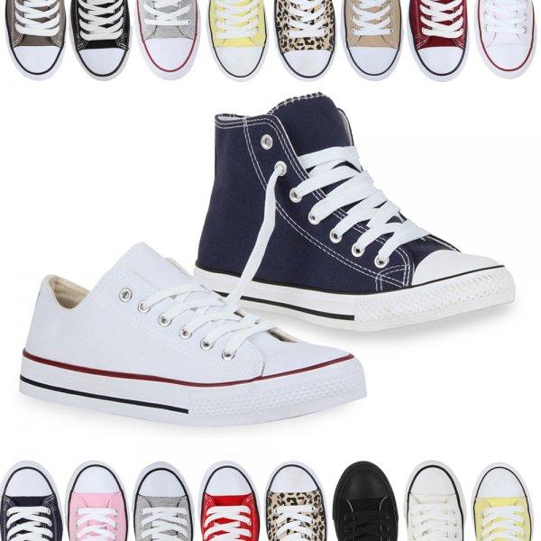 Sneakers Damen Herren Kinder Trendfarben Gr. 28-46  @ebay  14,90€