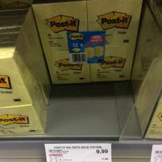 Post-it 12x100 + 12x100 Gratis! @Fegro Mannheim