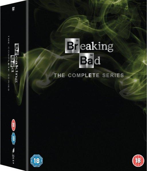 Breaking Bad Komplettbox für 68 Euro auf Amazon.co.uk