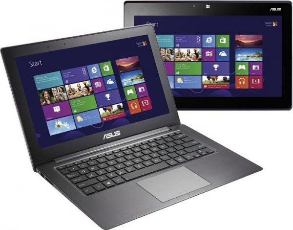 [Amazon WHD] Asus Taichi31-CX020H 13,3 Zoll 2xFHD IPS Display (1xMatt ohne Touch + 1x Glänzend mit Touch) Convertible Notebook (Intel Core i5 3337U, 1,8GHz, 4GB RAM, 256GB SSD, Intel HD, Win 8, 1,5kg) schwarz